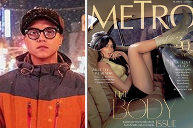 Daniel Padilla, humanga sa sexy magazine cover ni Kathryn Bernardo