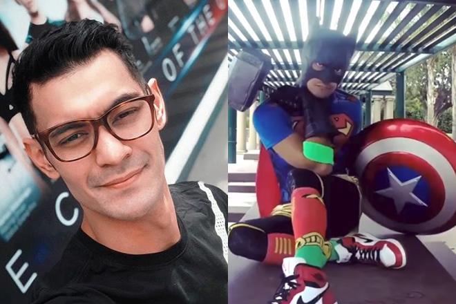 Gab Valenciano, naging superhero