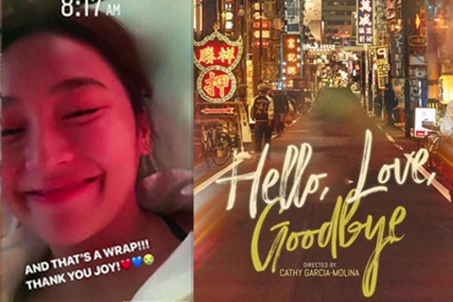 Shooting ng pelikulang 'Hello, Love, Goodbye', tapos na