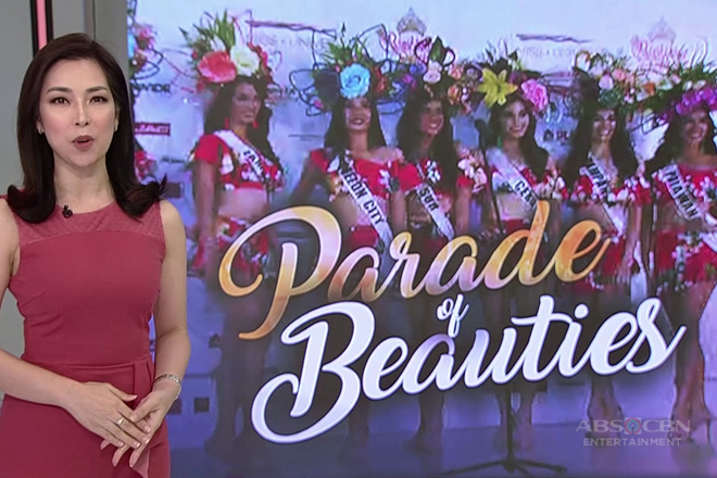 TV Patrol: 40 Kandidata ng BB. Pilipinas, nagbigay saya sa Parade of Beauties