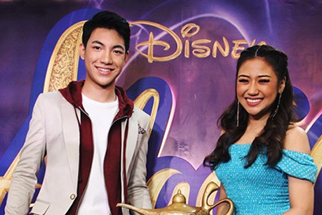 Pag-awit sa Disney classic song na 'A Whole New World', naging hamon kina Darren Espanto   at Morissette