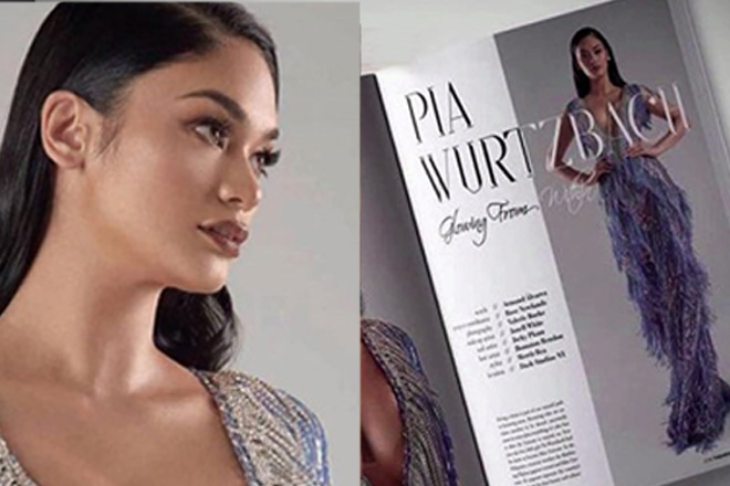 Pia Wurtzbach, na-feature sa isang fashion magazine sa New York