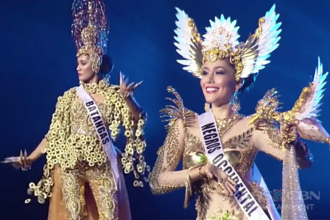 National costume ng Bb. Pilipinas 2019 candidates, level up