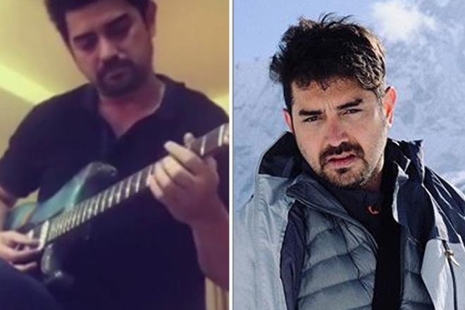 Ian Veneracion, ibinida ang galing sa pagtugtog ng electric guitar