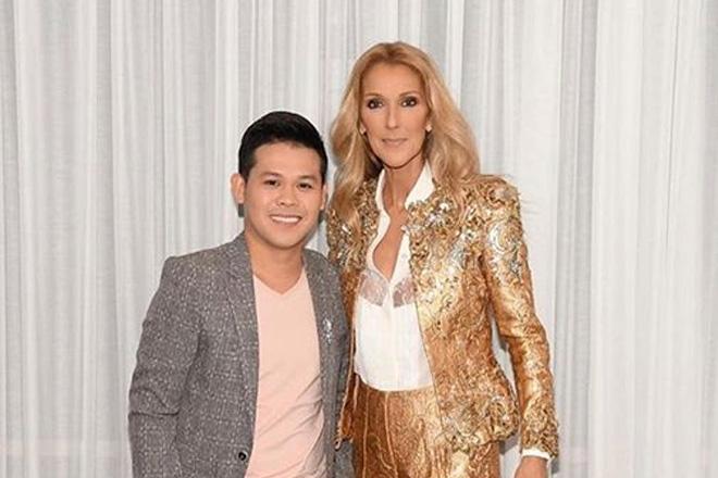 Marcelito Pomoy, personal na nakita ang idolo si Celine Dion