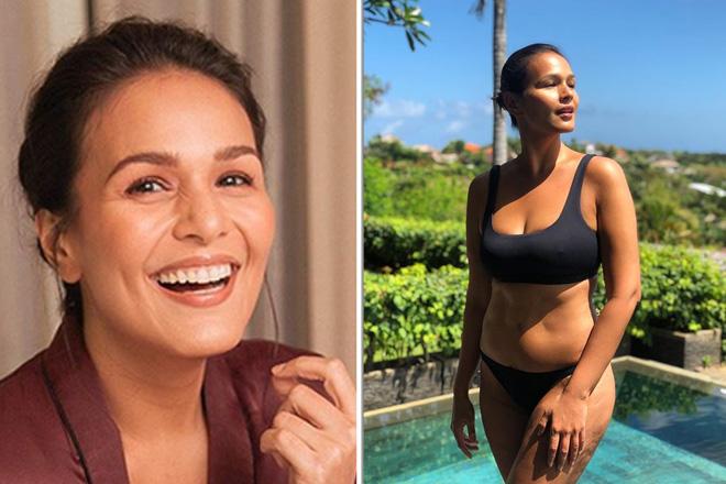 Iza Calzado, proud na ibinahagi ang kanyang no filter swimsuit photo